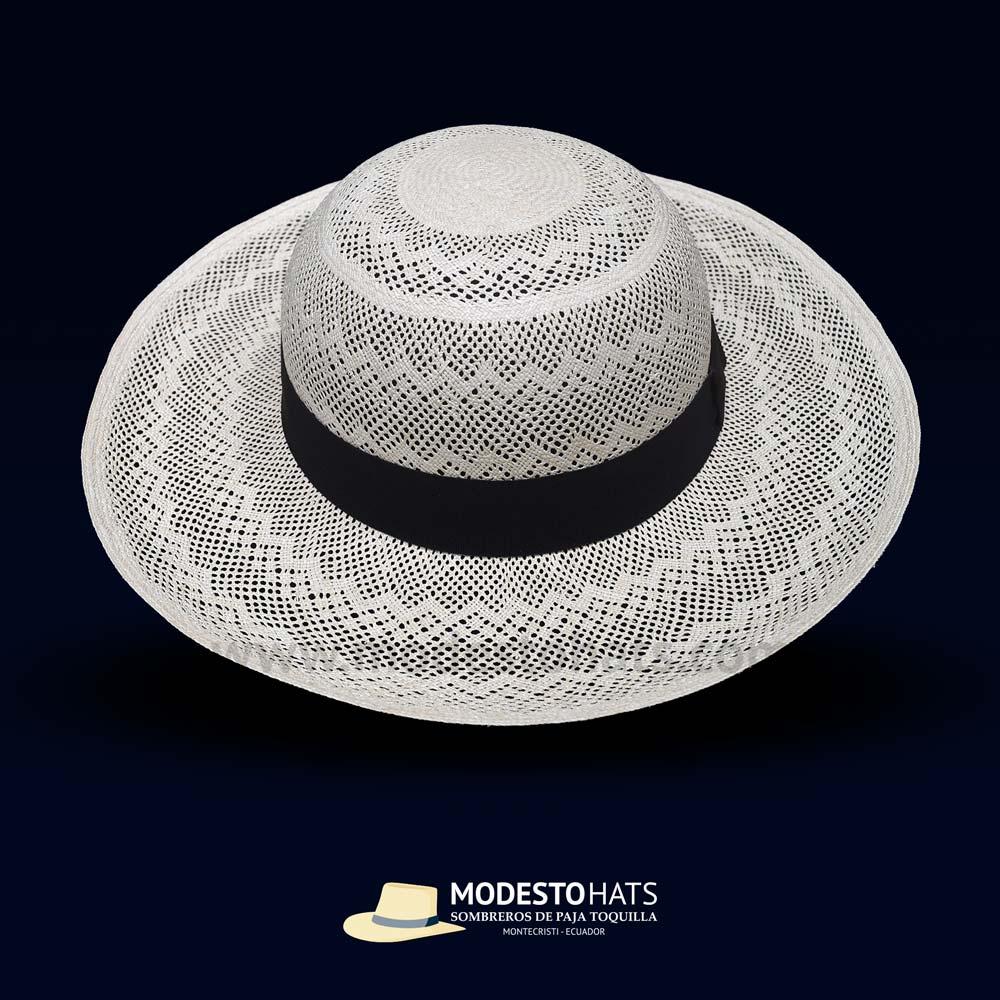46fa75e2 Pava All Lace Montecristi fine Panama hat – Modesto Hats