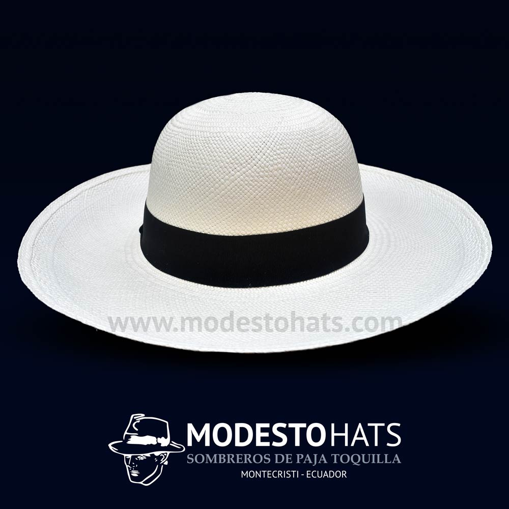0feae574c8a25 Breeze pava full white Cuenca hat – Modesto Hats